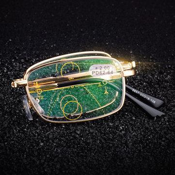 KCASA Folding Intelligent Reading Glasses Progressive Multifocal Lens  Presbyopia Anti Fatigue   Health   Beauty 117cb7e50e85
